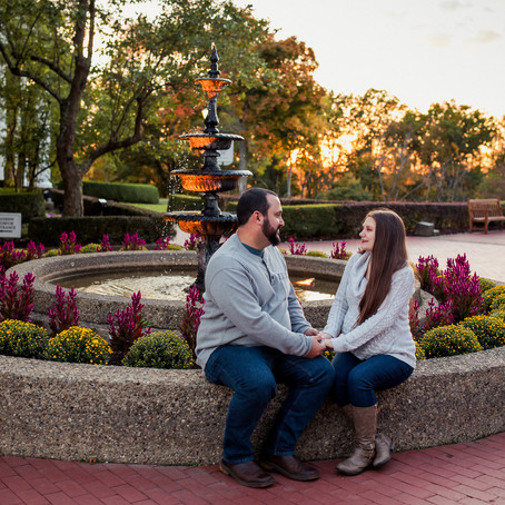 Michael and Sarah's Maternity Session in Oglebay Park | Wheeling, WV
