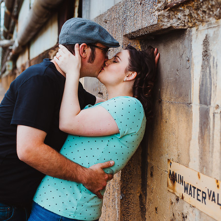 Rob + Michelle | Weirton Steel Engagement Session