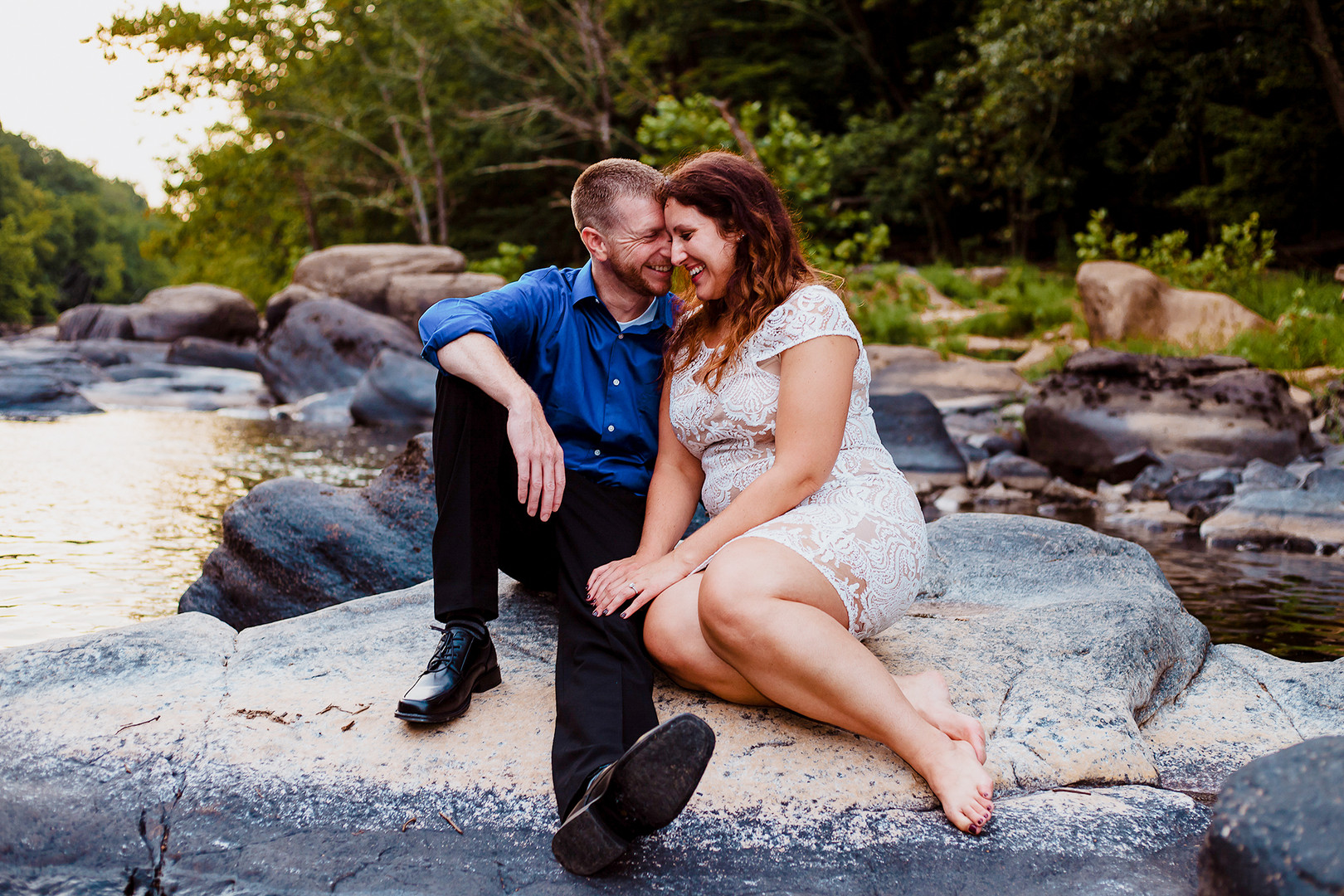 ValleyFallsEngagement-FairmontWV-CynDavi