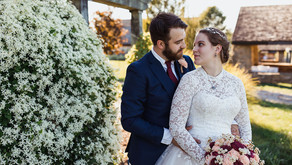 Andrew & Rachel's Fairytale Wedding at Rich Farms | Smithfield, PA