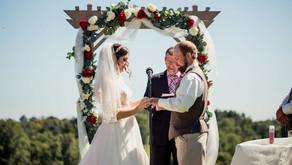 Beth + Erik's Vibrant Fall Wedding at Ebbert Farm Market   Belmont, OH