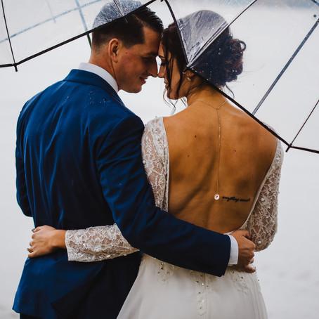 Trevor + Alyssa | Rainy Wedding on Seneca Lake, OH