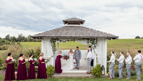 Johnna and Mike's Romantic Wedding at White Barn   Prospect, PA