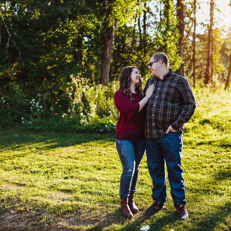 Nick + Nicole | Moon Park Engagement