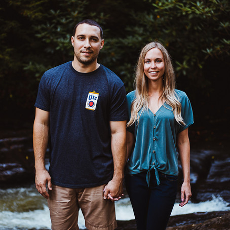 Colin + Staci | Adventure Engagement in Ohiopyle, PA