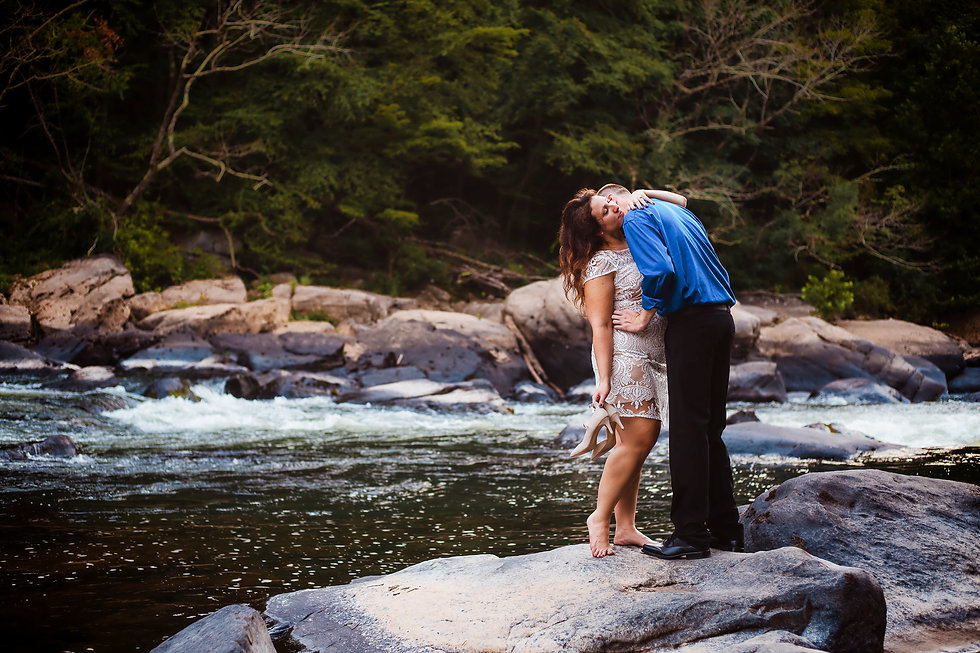 ValleyFalls-Engagement-FairmontWV-CynDav