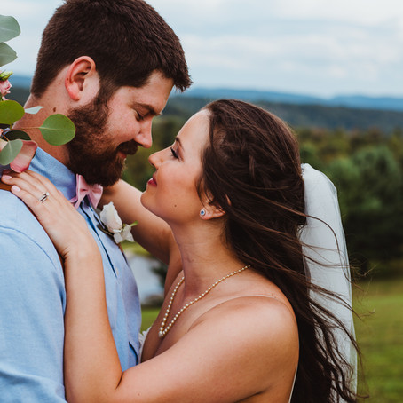 Morgan + Steven Wedding | Dream Mountain Ranch | Albright, WV