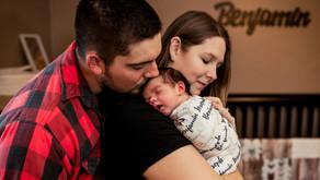 Baby Benjamin | In-Home Newborn Session | Greensburg, PA