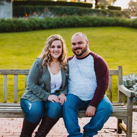 Jon + Olivia | Oglebay WV Engagement
