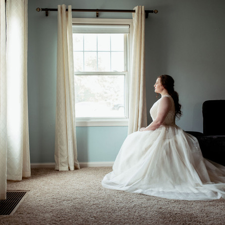 Soft and Romantic Bridal Portraits | Steubenville, OH