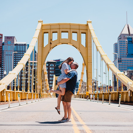 Ariana + Nick | Pittsburgh Engagement
