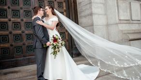 Rachel and Zac's Elegant Wedding | McKinley Presidential Library & Museum | Canton, OH