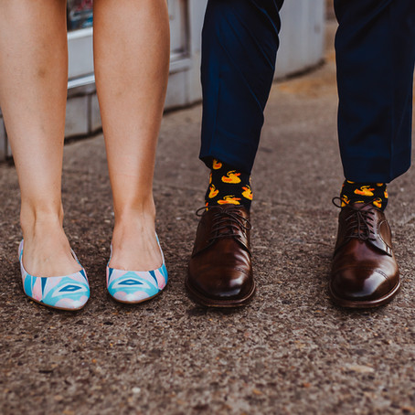 David + Hayden | Quirky Pittsburgh Small Wedding