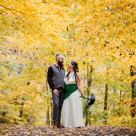 Kira and Matt's Celtic Elopement | Raccoon Creek State Park, PA