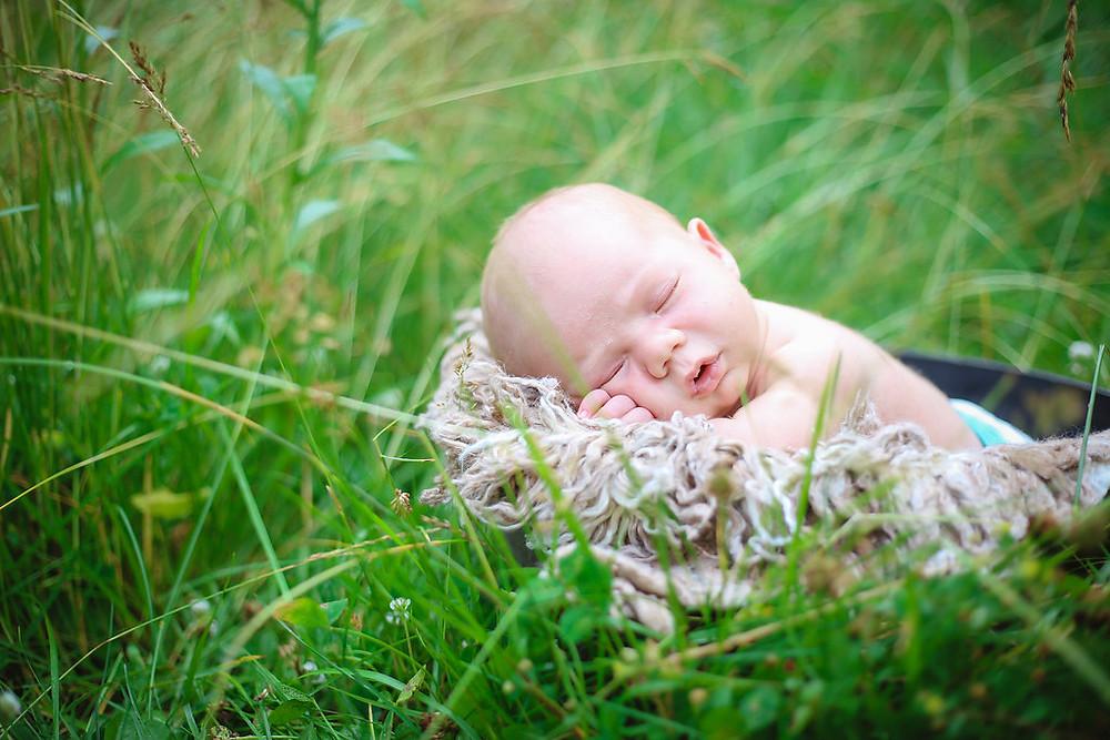 Newborn photo by Ashley Lyn Photography