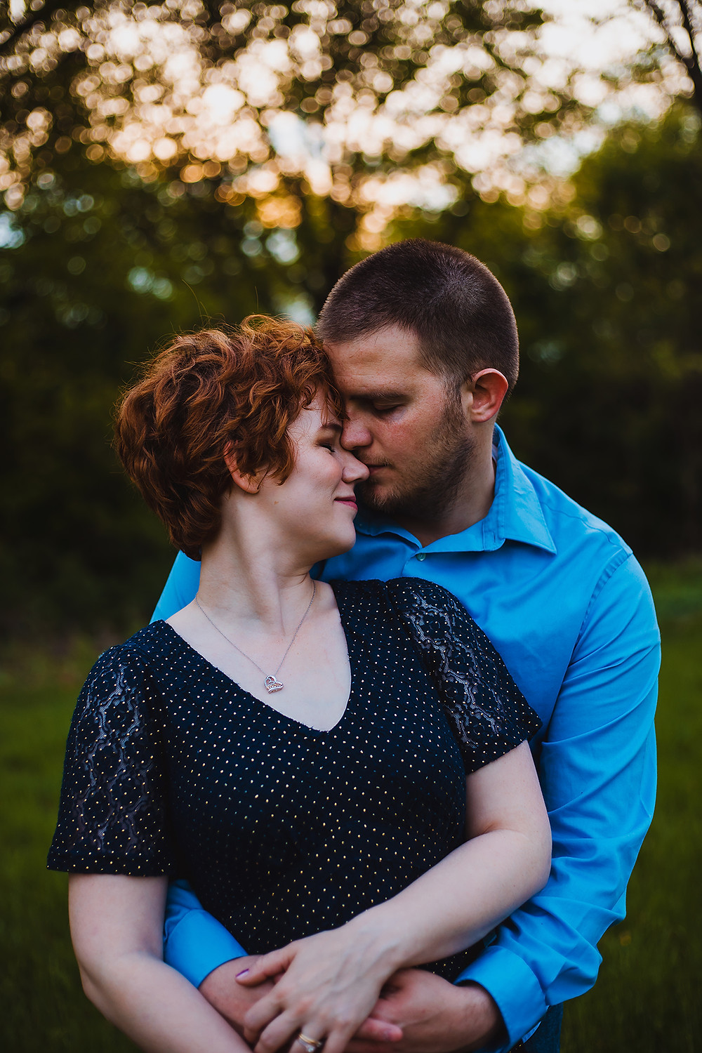 Golden Hour Couples Session in Steubenville, OH
