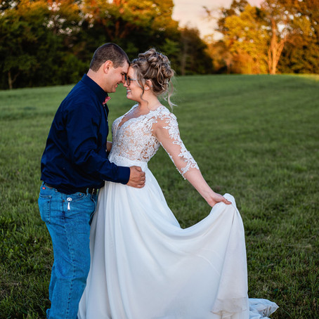 Kayla and Nick's Rustic Barn Wedding | Irondale, OH