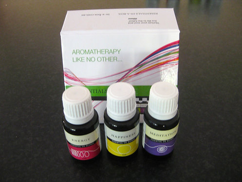 Essential oils in a Box x 3 - Gift Box Set