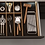 Thumbnail: Q Box Luxe 3- cutlery divider with spice rack