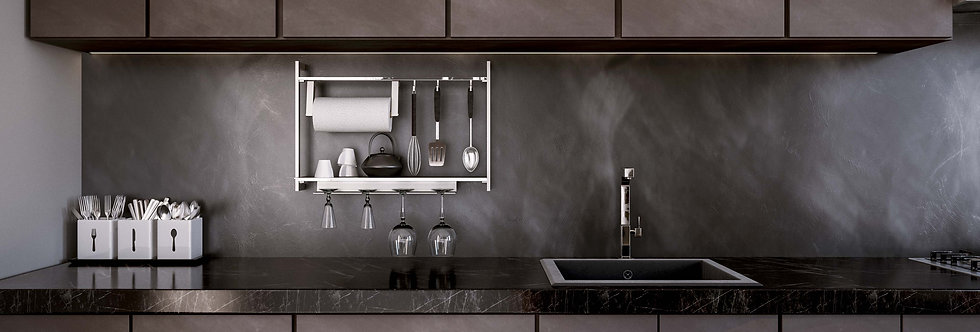 UP - BACKSPLASH RACK