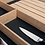 Thumbnail: Q Box Luxe cutlery divider with foil compartment and spice jars