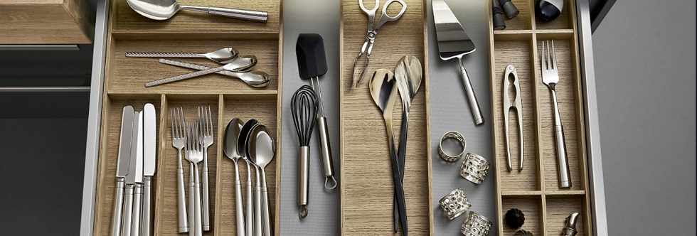 L Box cutlery divider