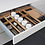 Thumbnail: Q Box Luxe 2 - cutlery divider with knife blockand spice jars