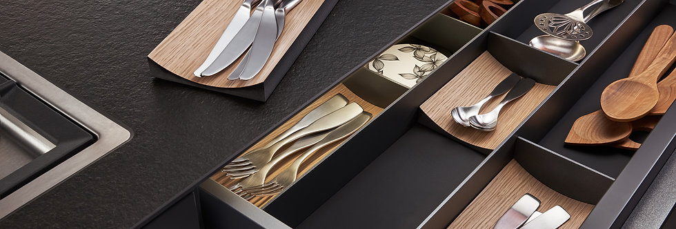 Combo DELUXE cutlery compartments