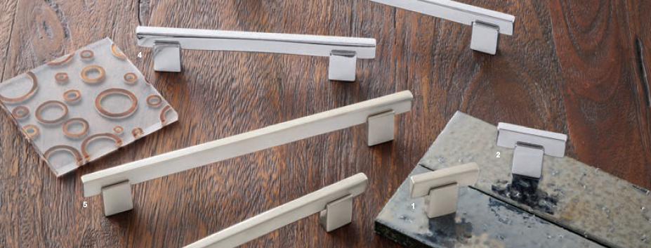 Modern handles