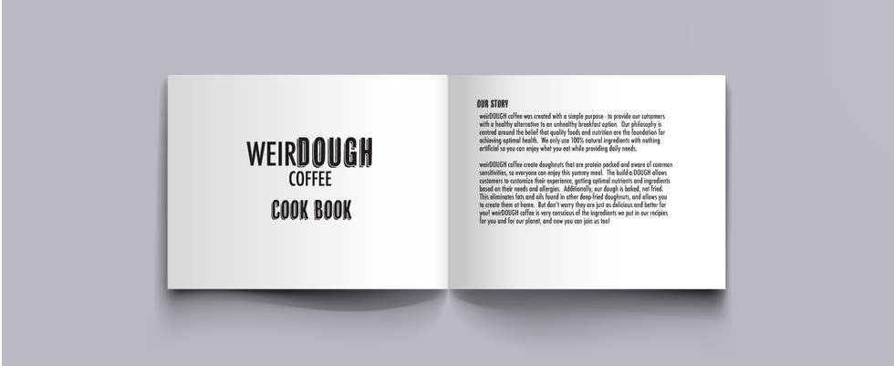 weirdDOUGH cookbook