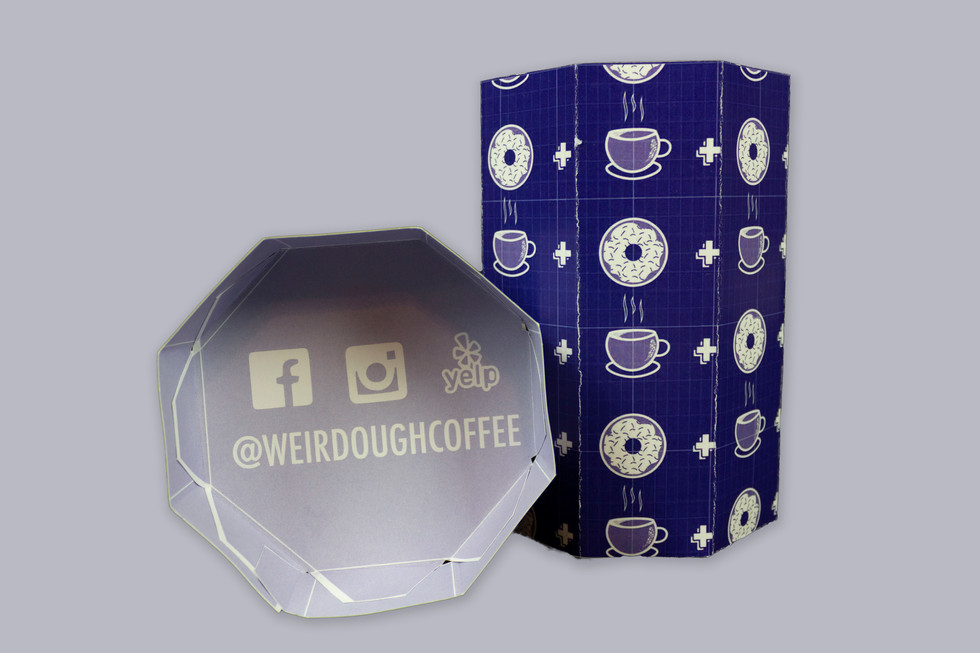 WeirDOUGH doughnut holder
