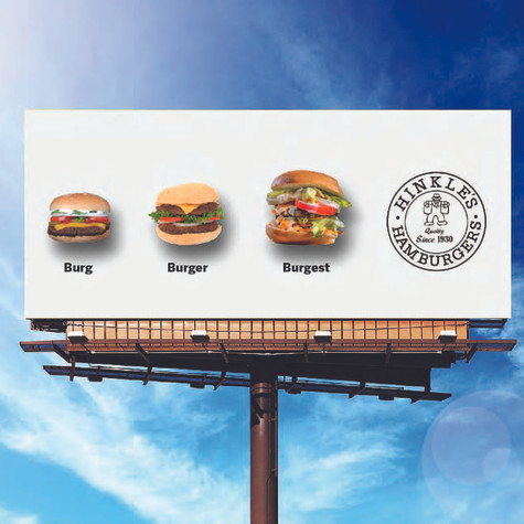 Hinkle's Outdoor Ad