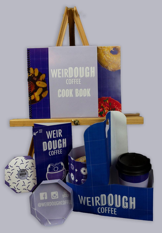 WeirDOUGH packaging