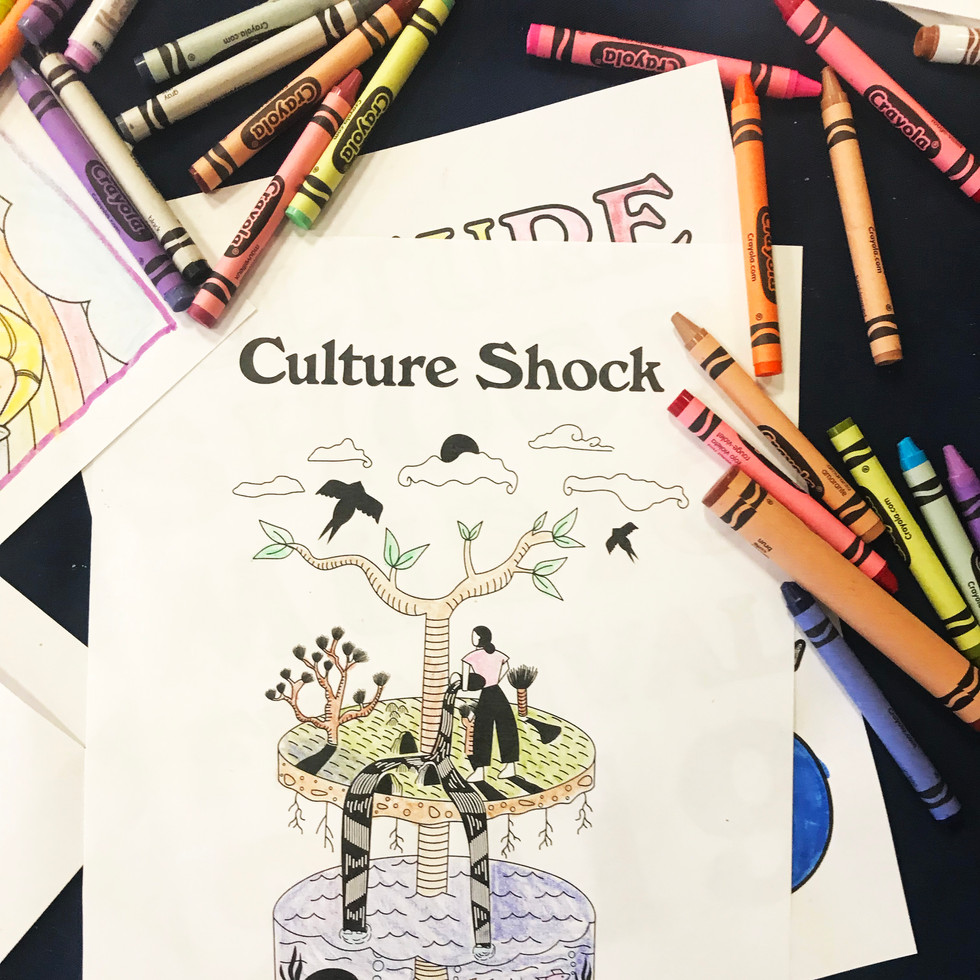 Culture Shock coloring page
