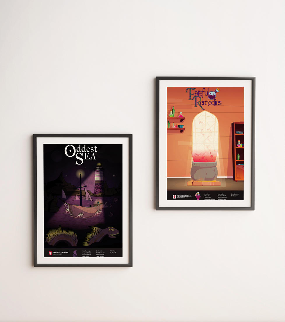 Game Design Posters