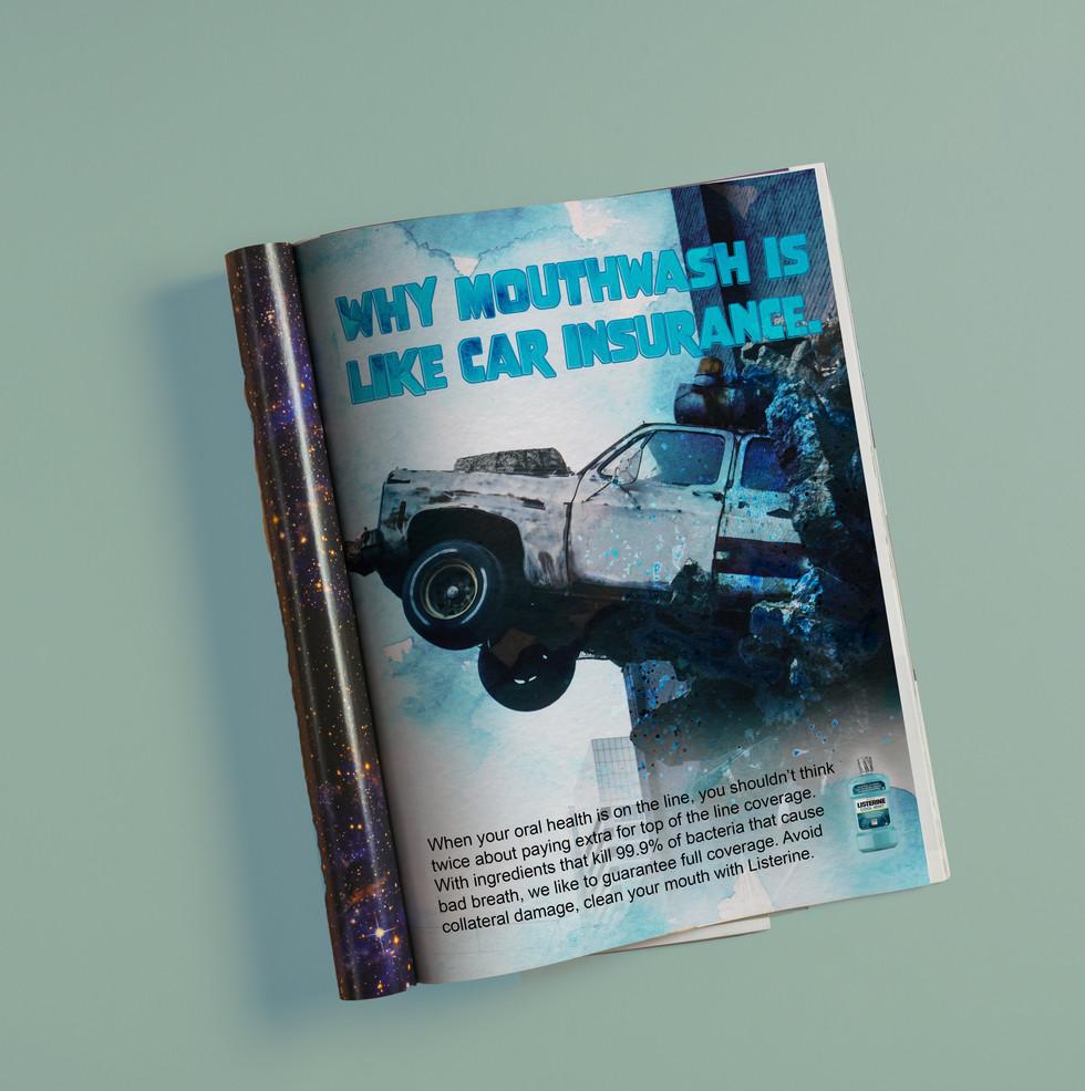 Listerine Print Ad 1