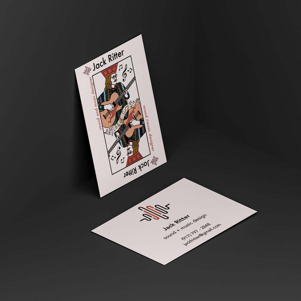 Jack Ritter Business Card