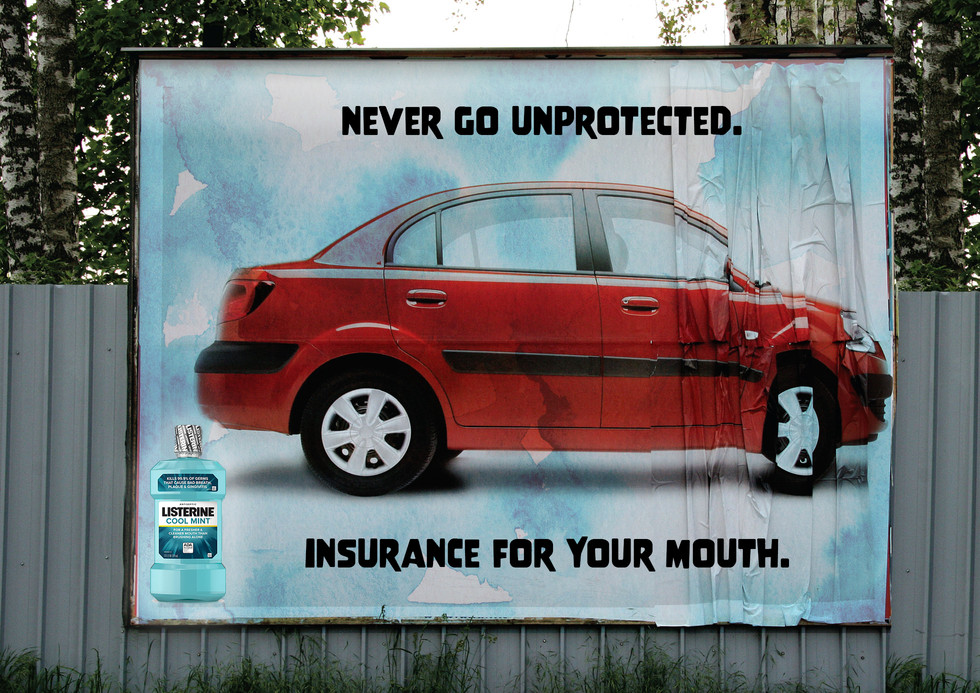 Listerine Out-of-Home Poster