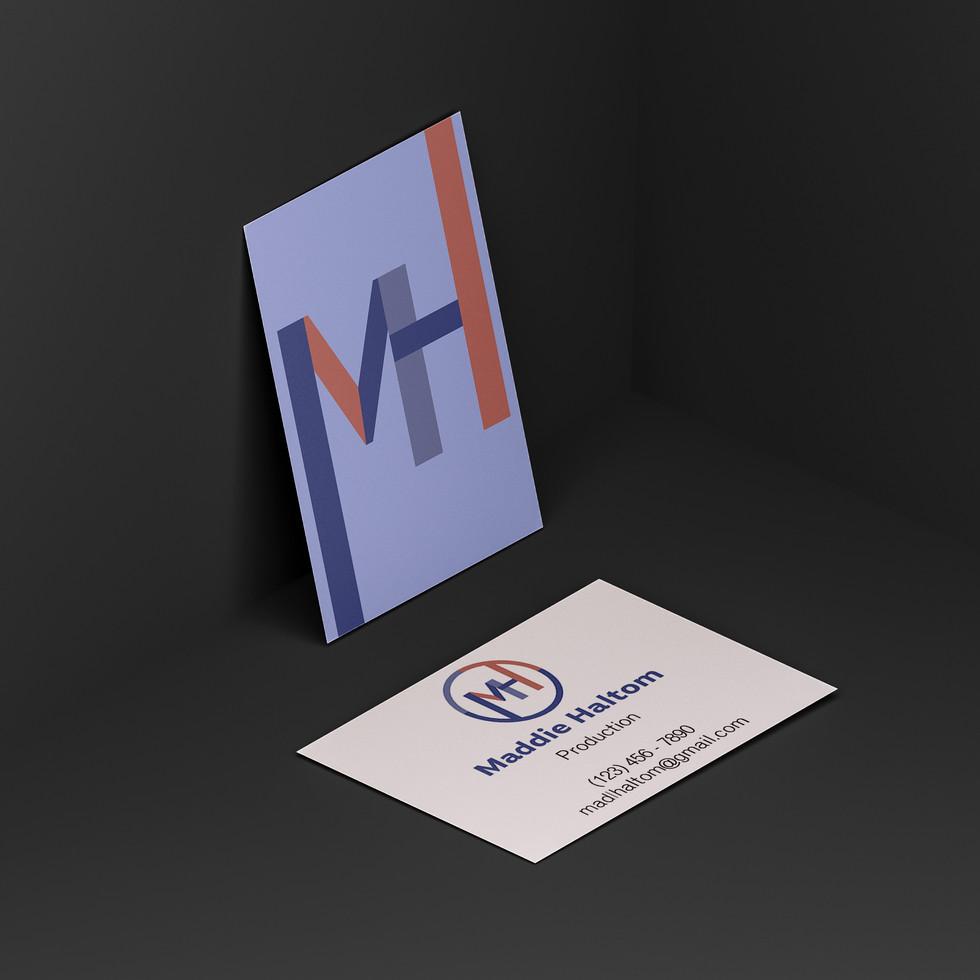 Maddie Haltom Business Card