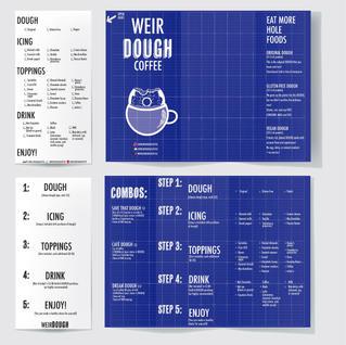 WeirDOUGH Branding