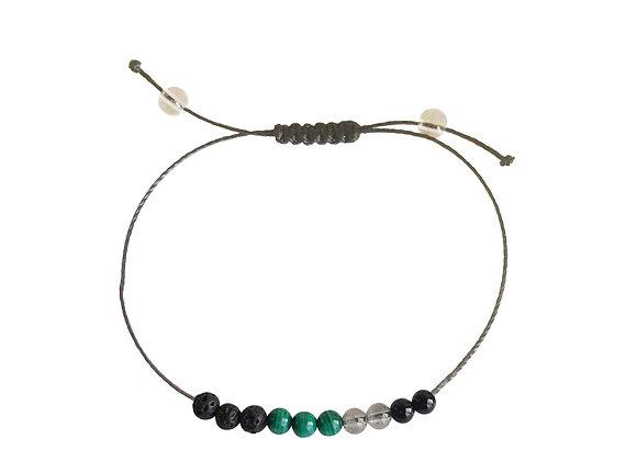 Cancer + Nylon + Choice of Anklet or Bracelet