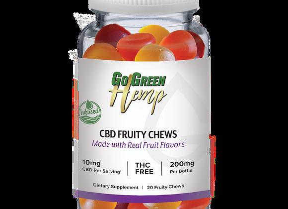 GoGreen Hemp CBD Infused Fruity Chews
