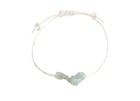 Kyanite + Hemp + Choice of Anklet or Bracelet