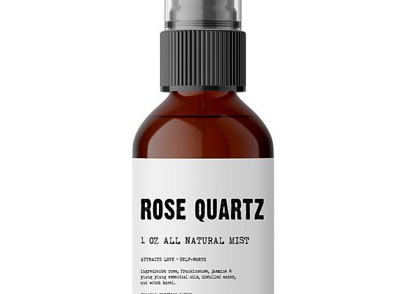 Rose Quartz Meditation Mist - Made With All Organic Ingredients