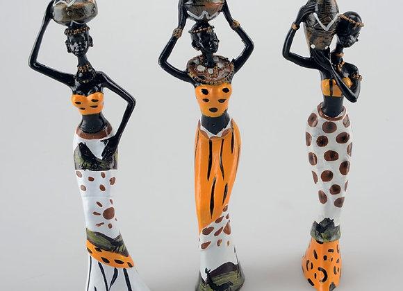 3pcs/Lot 6*5*20cm African Woman People