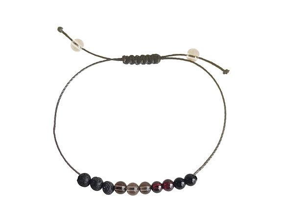 Capricorn Sign + Nylon + Choice of Anklet or Bracelet