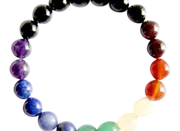 7 Chakras Mix Gemstone Bracelet
