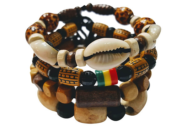 Safari Lionel 4 Pcs Bracelets for Men Women