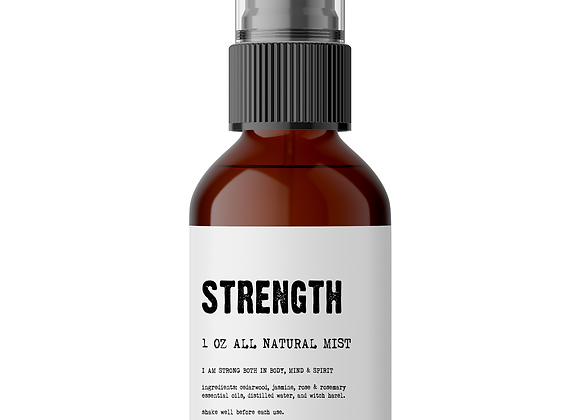 Strength - Meditation/Body Mist - Made With All Natural Ingredients