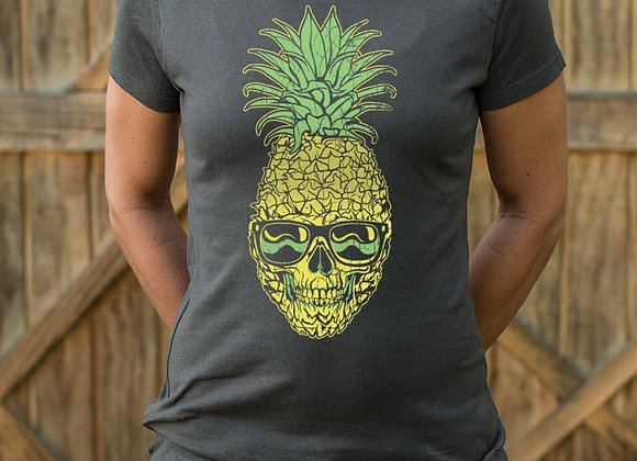 Pineapple Skull T-Shirt (Ladies)